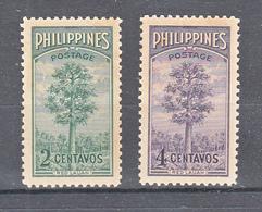 Filippine Philippines Philippinen Filipinas 1950 Bureau Of Forestry, 50th Anniversary, Complete Set Toned Gum - MNH** - Filippine