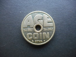 Belgium. Cigarette Vending Token - Age Coin - Unclassified