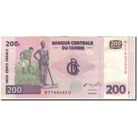 Billet, Congo Democratic Republic, 200 Francs, 2000-06-30, KM:95a1, SUP - Congo