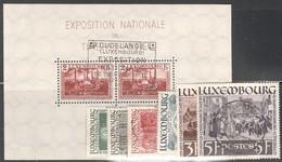 Luxemburg Yvert/Prifix Bloc 2 Et 300/05 Oblit. TB Sans Défaut Cote EUR 42,50 (numéro Du Lot 356 IL) - Used Stamps