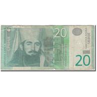 Billet, Serbie, 20 Dinara, 2006, KM:47a, AB+ - Serbie