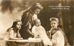 Roumanie - A.L.R. Printesele Maria Jlena - Printii Nicolae Si Mircea - Royal Families
