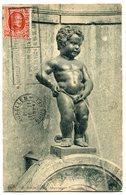 CPA - Carte Postale - Belgique - Bruxelles - Manneken Pis (SV5942) - Beroemde Personen