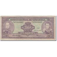 Billet, Venezuela, 10 Bolívares, 1995-06-05, KM:61d, B - Venezuela