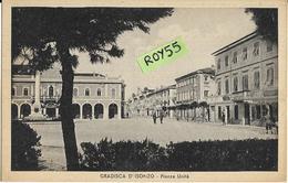 Friuli Venezia Giulia-gorizia-gradisca D'isonzo Piazza Unita Differente Veduta Anni 40 (XIX) - Andere Steden