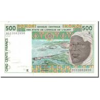 Billet, West African States, 500 Francs, 1991, KM:710Ka, SUP - États D'Afrique De L'Ouest