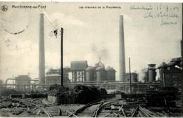 Belgique Marchienne Au Pont Chantiers De La Providence - Charleroi