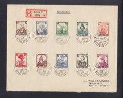 Dt. Reich Grossbrief 1936 Frauen - Germania