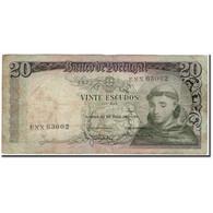 Billet, Portugal, 20 Escudos, 1964-05-26, KM:167a, B - Portugal