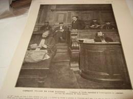 AFFICHE PHOTO L AFFAIRE VILLAIN L ASSASIN DE JAURES 1919 - Posters
