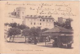 CPA -  19. CHATEL GUYON Source Deval - Châtel-Guyon