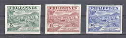 Filippine Philippines Philippinen Filipinas 1951 Peace Fund Campaign, Imperforated Set - MNH** - Philippines
