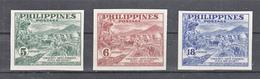 Filippine Philippines Philippinen Filipinas 1951 Peace Fund Campaign, Imperforated Set - MNH** - Filippine