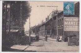 59 DENAIN Avenue Jean Jaurès ,passage à Niveau ,publicité Ameublement Martin Valenciennes - Denain