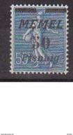 MEMEL       N° YVERT  :  54   NEUF SANS CHARNIERE        ( N   910  ) - Memel (1920-1924)