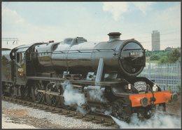 London, Midland & Scottish Railway Class 8F 2-8-0 No 48151 - Steam Classic Postcard - Trains