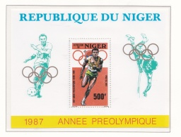 Niger 1988 Seoul Olympic Summer Games Souvenir Sheet  - Preolympique   MNH/**  (M5) - Ete 1988: Séoul