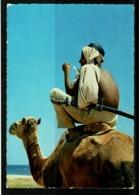 Ref 1231 - 1964 Ethnic Postcard - Camel Driver Massawa Ethiopia - 40c Rate To Nairobi East Africa - Africa