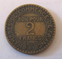 France - Monnaie 2 Francs Chambres De Commerce 1926 - France