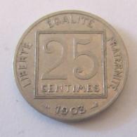 France - Monnaie 25 Centimes Patey 1er Type 1903 - France