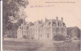 CPA - Château De Cherbon Près LE LUDE - Frankrijk