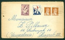 Turkey 1946 1948 Red Crescent Letter 1951 Cover - 1921-... République