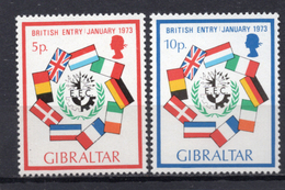 1973 - GIBILTERRA - Catg. Mi. 297/298 - NH - (C0120.14..) - Gibilterra