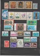 39 TIMBRES BULGARIE OBLITERES & NEUFS*  SANS GOMME  DE 1919-1962-1964-1969 - Gebraucht
