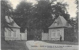 Loverval NA17: Entrée Du Château De M. Le Comte W. De Mérode, Chaussée De Philippeville - Gerpinnes