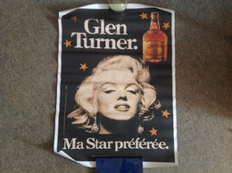 Marilyn Monroe, Poster Publicitaire Whisky Glen Turner - Posters