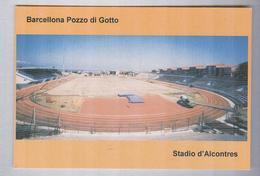 BARCELLONA POZZO DI GOTTO...STADIO...CAMPO SPORTIVO... FOOTBALL.....STADE ....STADIUM....CALCIO - Calcio