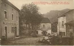 07  Saint Julien Du Gua Entrée Du Village - Otros Municipios