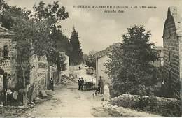 07  Saint Jeure D'Andaure  - Grande Rue - Francia