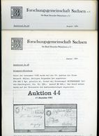 ArGe Sachsen Rundbriefe Nr. 28 + 29 - Jahrgang 1984 - Sachsen