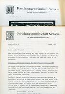 ArGe Sachsen Rundbriefe Nr. 30 + 31 - Jahrgang 1985 - Sachsen