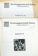 ArGe Sachsen Rundbriefe Nr. 34 + 35 - Jahrgang 1987 - Sachsen