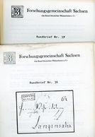 ArGe Sachsen Rundbriefe Nr. 36 + 37 - Jahrgang 1988 - Sachsen