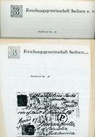 ArGe Sachsen Rundbriefe Nr. 38 + 39 - Jahrgang 1989 - Sachsen