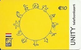 Netherlands: Prepaid IDT - Unity 02.07 - Niederlande