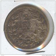 Bulgaria 2 Leva 1891 - Bulgaria