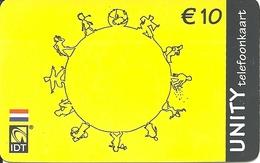 Netherlands: Prepaid IDT - Unity 12.04 - Niederlande