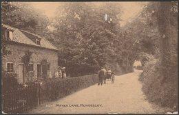 Water Lane, Mundesley, Norfolk, 1931 - Photochrom Postcard - England