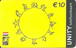 Netherlands: Prepaid IDT - Unity 11.04 - Niederlande