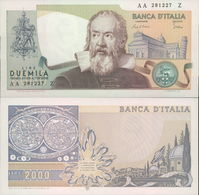 BANCONOTA DA 2.000 LIRE 24/10/1983 GALILEO FDS UNC FERFETTA - [ 2] 1946-… : Républic