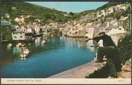 Polperro Harbour From The Warren, Cornwall, C.1960s - Jarrold Postcard - England