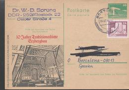 30185. Entero Postal ROSTOCK (Alemania DDR) 1984. 10 Jahre Traditions Erzbergbau - [6] República Democrática