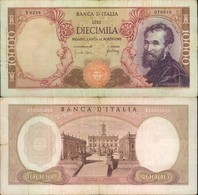 BANCONOTA DA 10.000 LIRE 20/05/1966 CIRCOLATA BUONE CONDIZIONI BB - [ 2] 1946-… : Républic