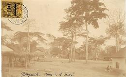 1904- C P A Photo De BINGERVILLE  Affr. N° 19 SEUL   Pour La France - Côte-d'Ivoire (1892-1944)