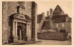 DOMME  -  Façade De L'Eglise Et Maison Du Gouveneur - Frankreich