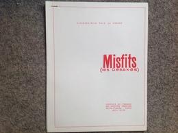 Marilyn Monroe Film Misfits, Documentation Pour La Presse (7 Pages - Cinema Advertisement